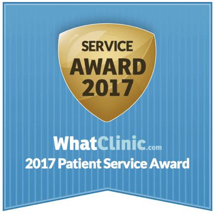 Dental patient service award