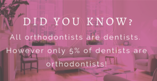 The difference between a dentist and orthodontist