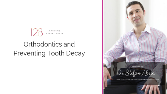 Orthodontics and preventing tooth decay