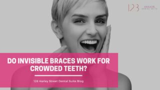 do invisible braces work for crowded teeth